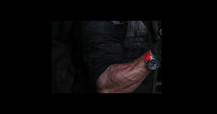 Sylvester Stallone Watch In The Expendables 3 Movie