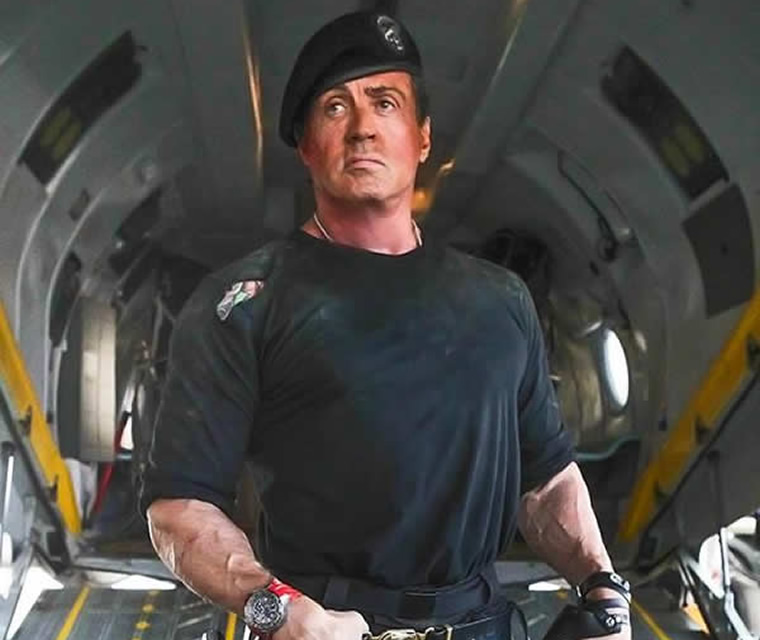 Sylvester Stallone Watch In The Expendables 3 Movie 2
