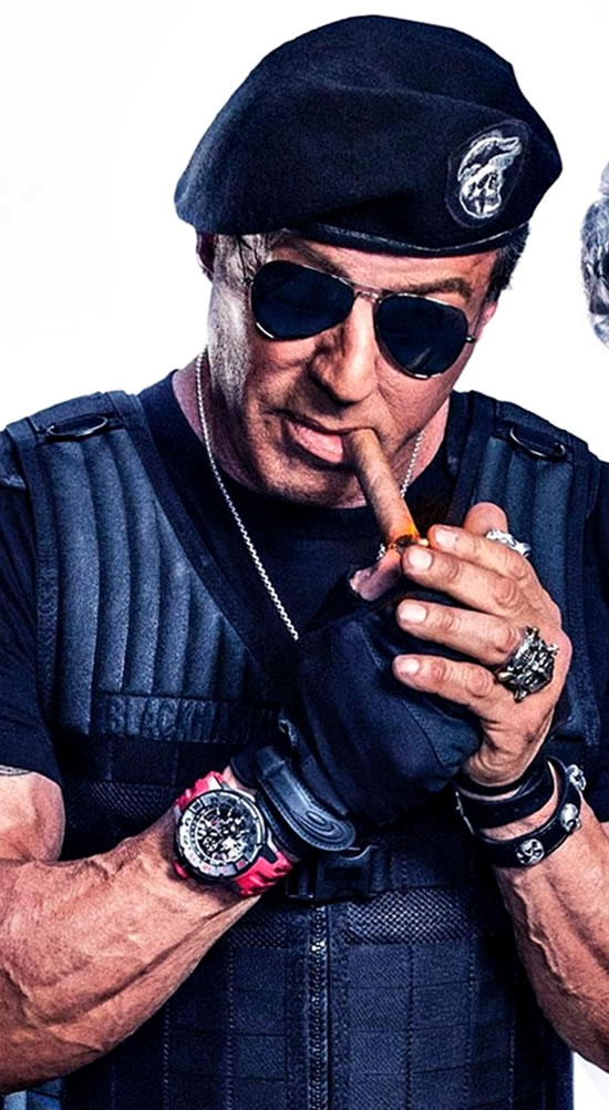 Sylvester Stallone Watch In The Expendables 3 Movie cigar
