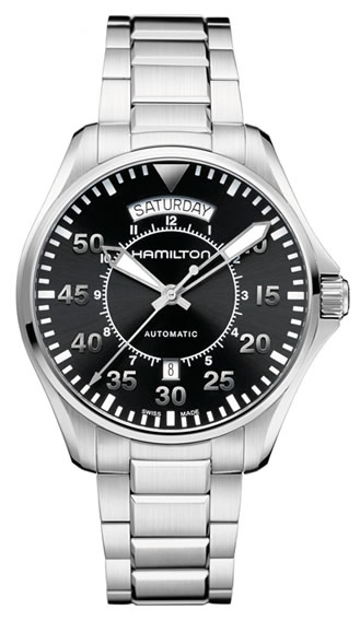 Hamilton Khaki Pilot Day Date Interstellar Movie
