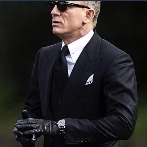 Daniel Craig Spectre Filming Omega