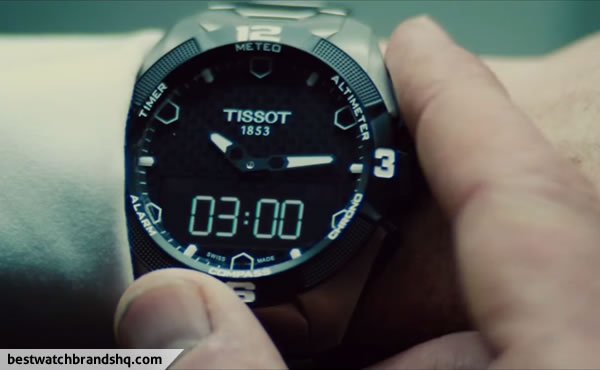 Simon Pegg's Watch In Mission: Impossible - Rogue Nation