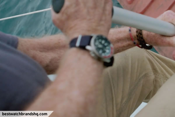 Robert Redford Watch In All Is Lost Movie - 1
