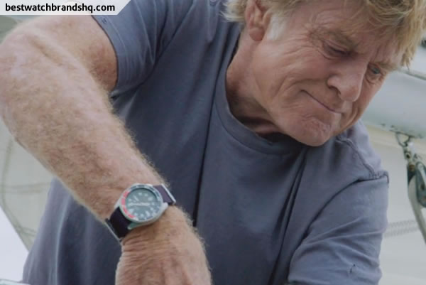 Robert Redford Watch In All Is Lost Movie - 2