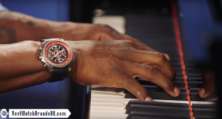 Brian McKnight Piano - Breitling Bentley Supersports ISR