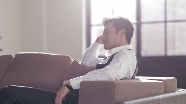 Jang Dong Gun Promotional Video For Maurice Lacroix 3