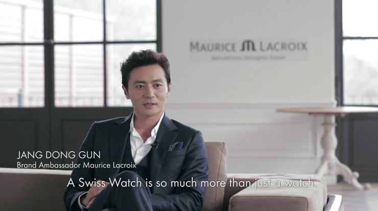 Jang Dong Gun Promotional Video For Maurice Lacroix