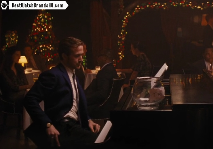Ryan Gosling Omega Vintage Watch La La Land Movie 4
