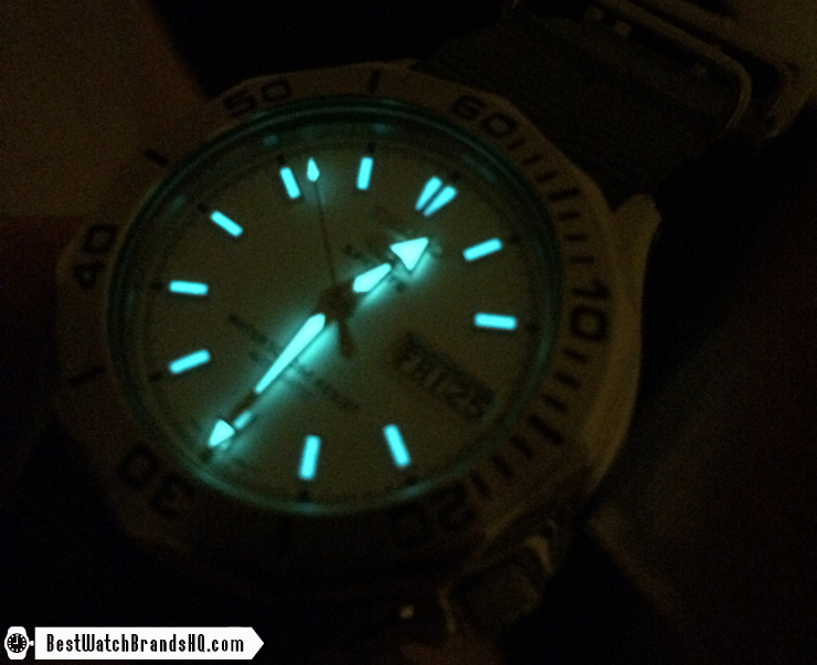 Seiko Lumibrite SuperLuminova C1 Lume