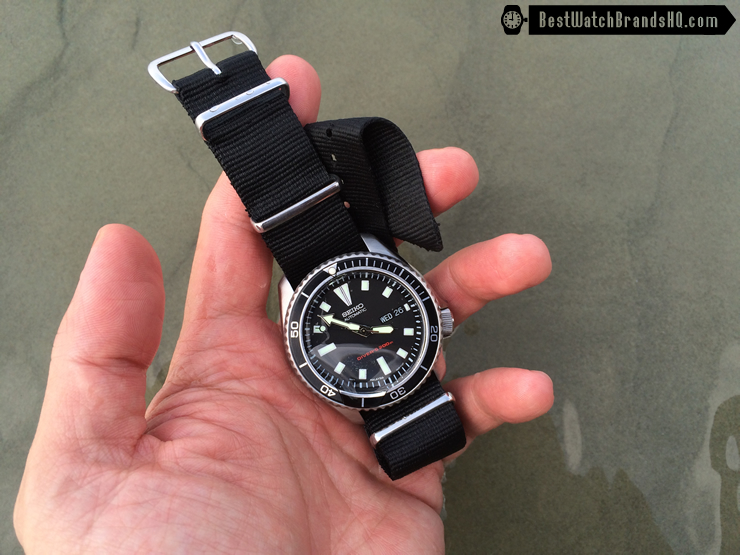 Modded SKX173 Planet Ocean In The Sea 2