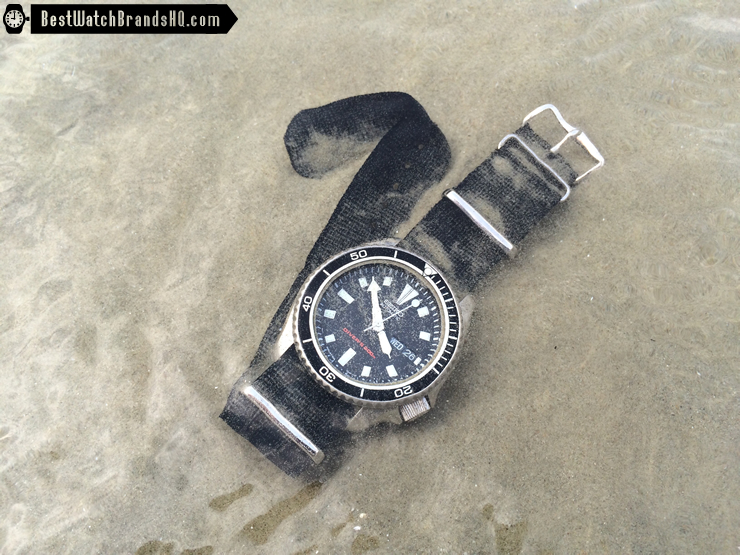 Modded SKX173 Planet Ocean In The Sea