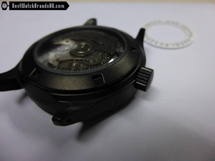 Seiko SRP269J1 Black DLC Coat Mod 2