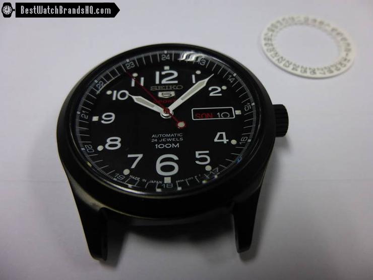 Seiko SRP269J1 Black DLC Coat Mod
