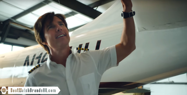 Tom Cruise Wrist Watch In American Made Movie 2