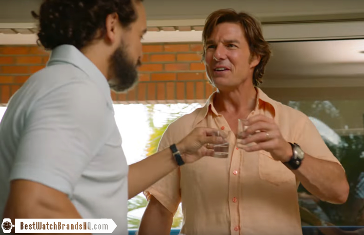 Tom Cruise Wrist Watch In American Made Movie 5