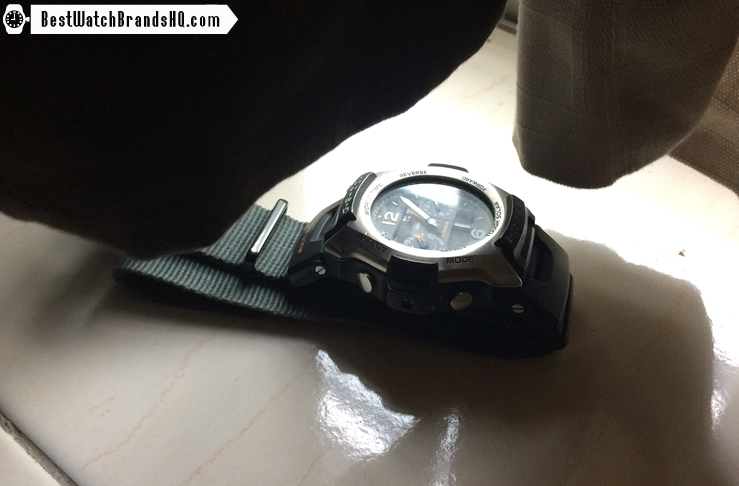 How Long To Charge A Casio Solar G-Shock From Medium To High 2