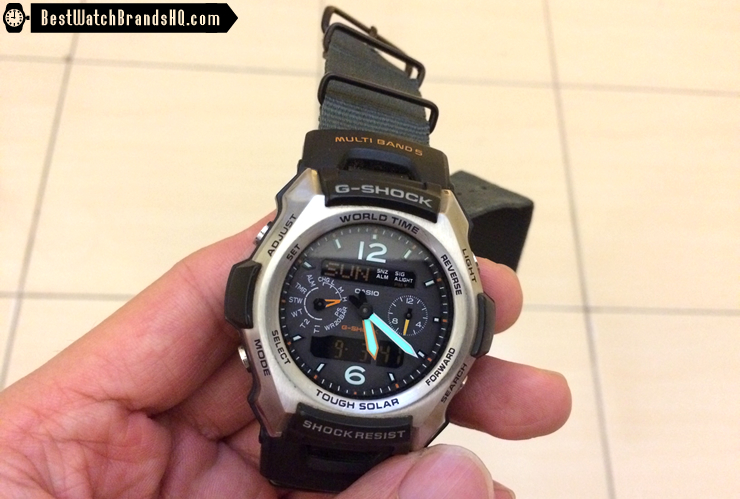 How Long To Charge A Casio Solar G-Shock From Medium To High 3