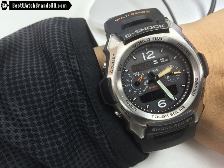 How Long To Charge A Casio Solar G-Shock From Medium To High