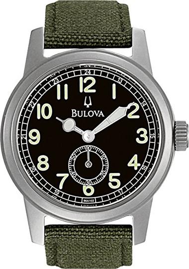Bulova 96A102 Field Hack Watch
