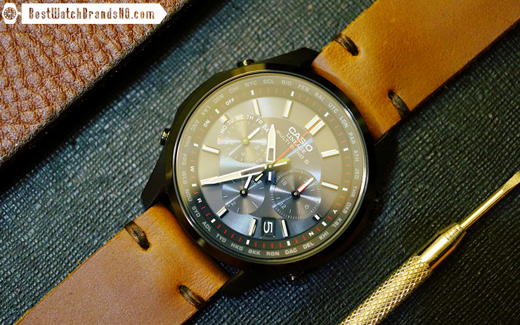 Jack Foster Chocolate Cavalier Horween Chromexcel Leather Watch Strap Review 5