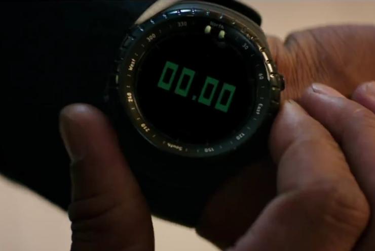 Denzel Washington Suunto Watch In The Equalizer 2 Movie 2