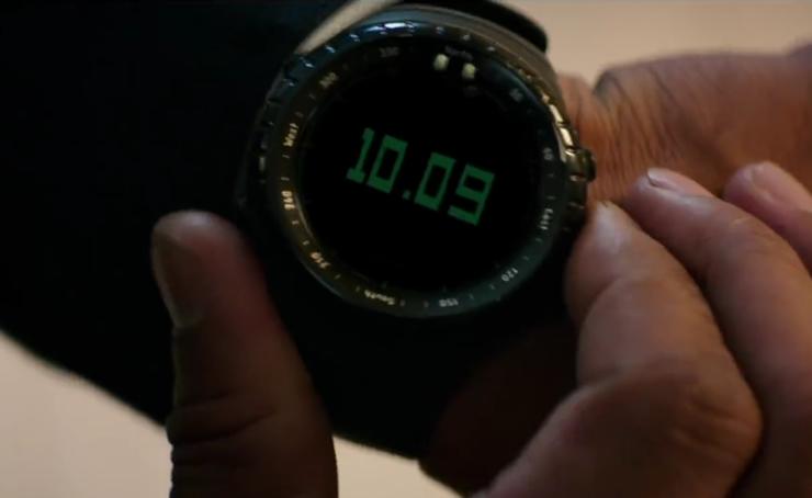 Denzel Washington Suunto Watch In The Equalizer 2 Movie 3