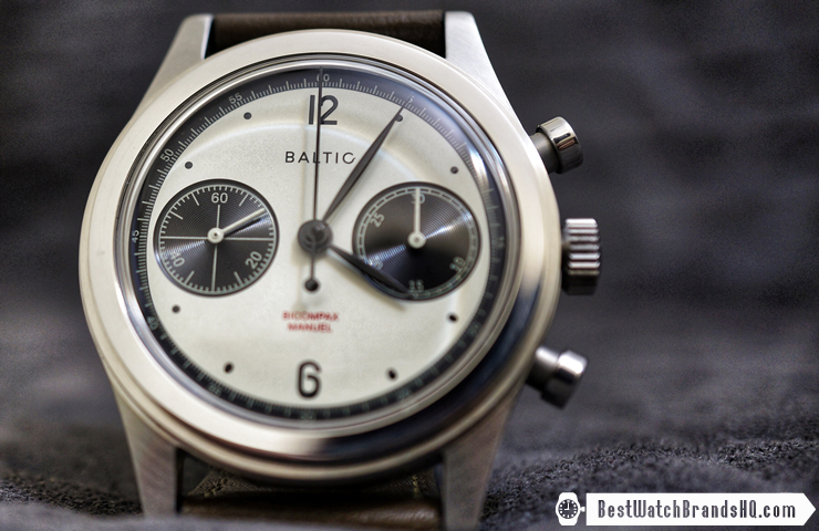 Baltic BICOMPAX Panda Chronograph Review 2