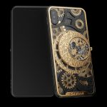 Caviar Skeletonized Watch Movement Case For Your iPhone XS