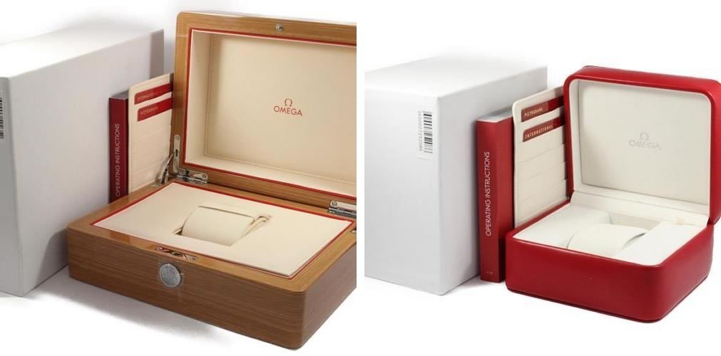 Omega Seamaster Red Box vs Wooden Box