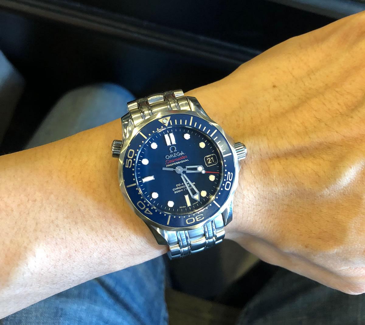 Omega Seamaster SMPc Blue Ceramic 212.30.36.20.03.001