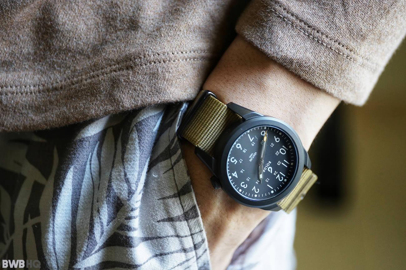 Review BOLDR Venture Jet-Black Pocket Shot