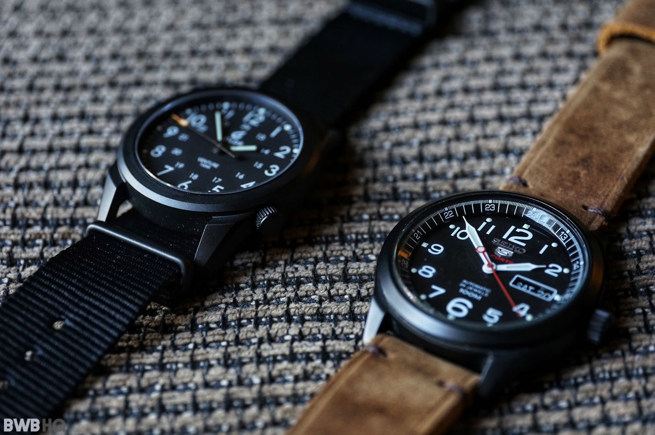 Review BOLDR Venture Jet-Black With Seiko SRP269