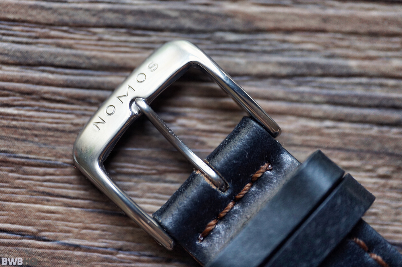 Nomos Shell Cordovan Watch Strap Review Buckle