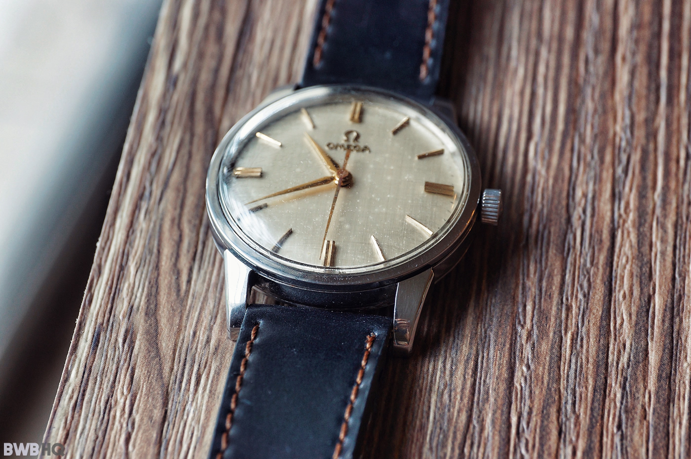 Nomos Shell Cordovan Watch Strap Review With Vintage Omega 2