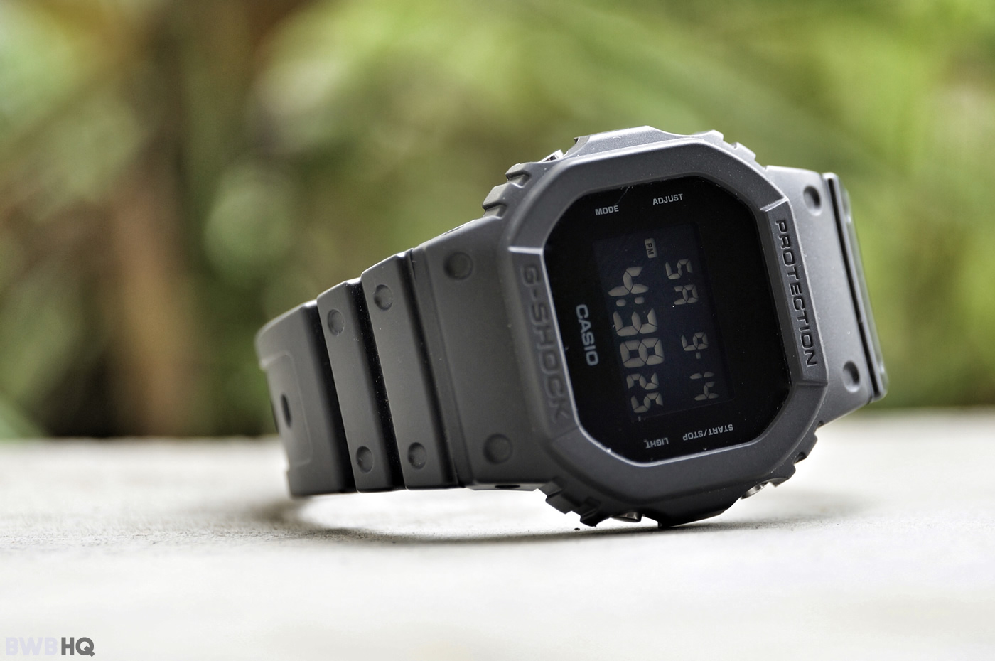 G-Shock DW5600BB All Black Cool