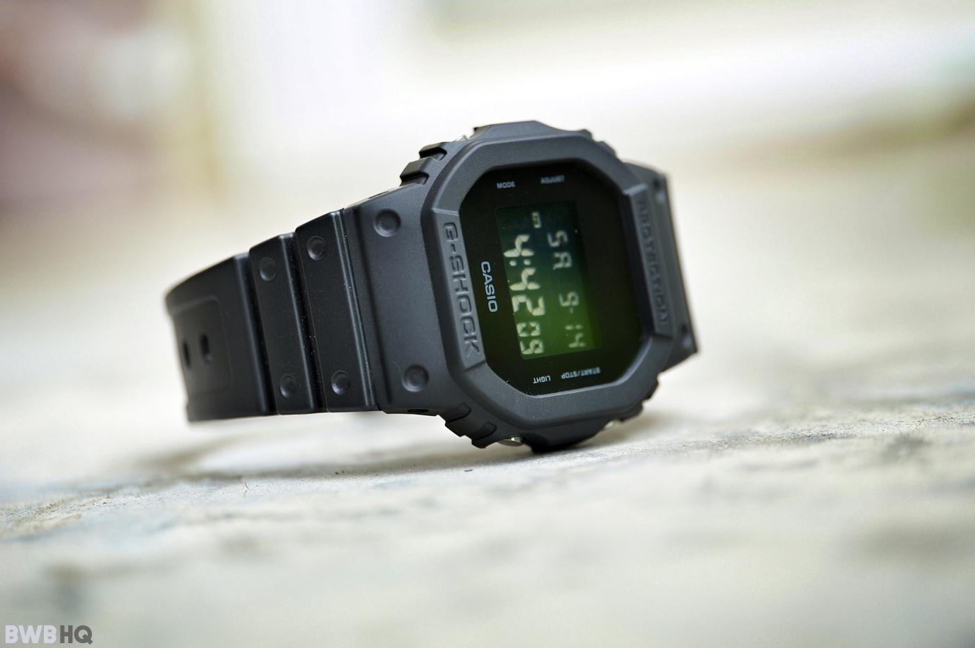 G-Shock DW5600BB All Black