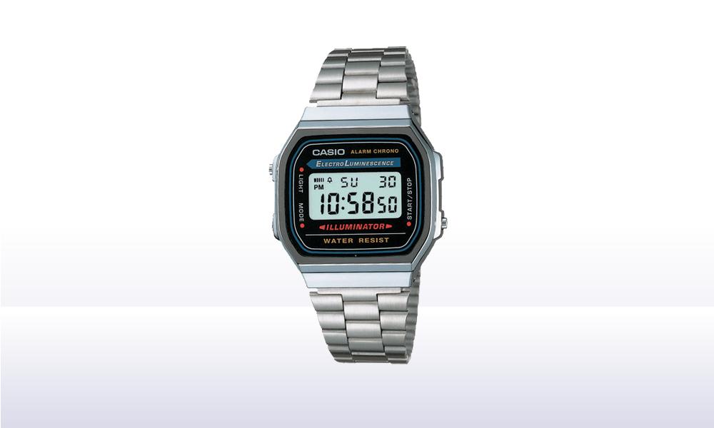 Casio A168W-1 Retro Watch