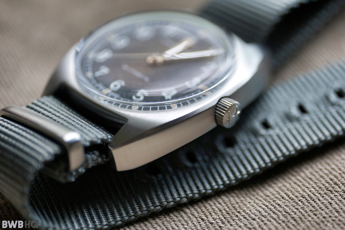 Hamilton Khaki Pilot Pioneer Mechanical Beveled Edge Finishing