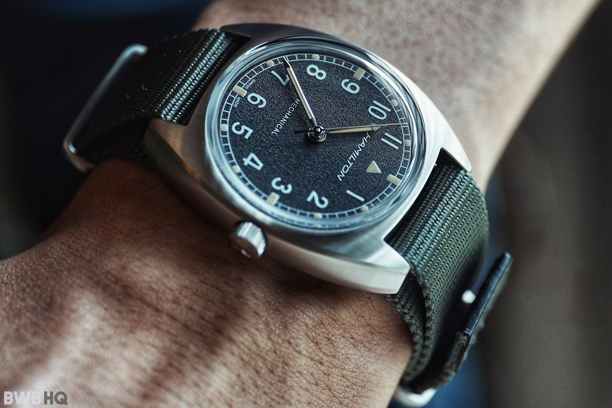 Hamilton Khaki Pilot Pioneer Mechanical Small Wrist Shot 2