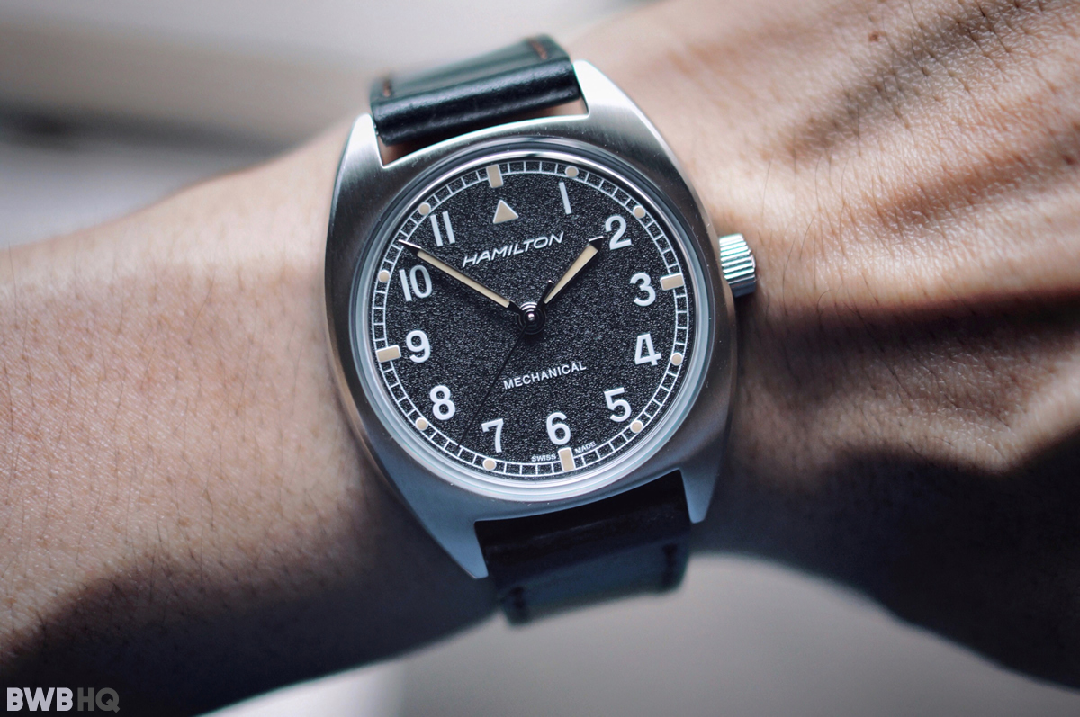 Hamilton Khaki Pilot Pioneer Mechanical Small Wrist Shot
