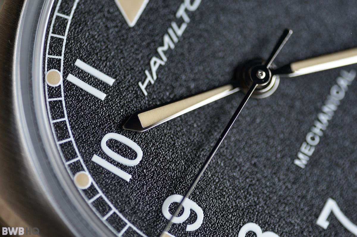 Hamilton Khaki Pilot Pioneer Mechanical Textured Dial
