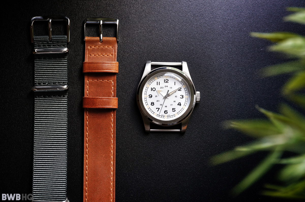 Serica WWW Watch Leather and Nato Straps