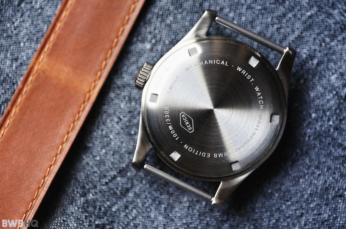 Serica WWW Watch Steel Caseback