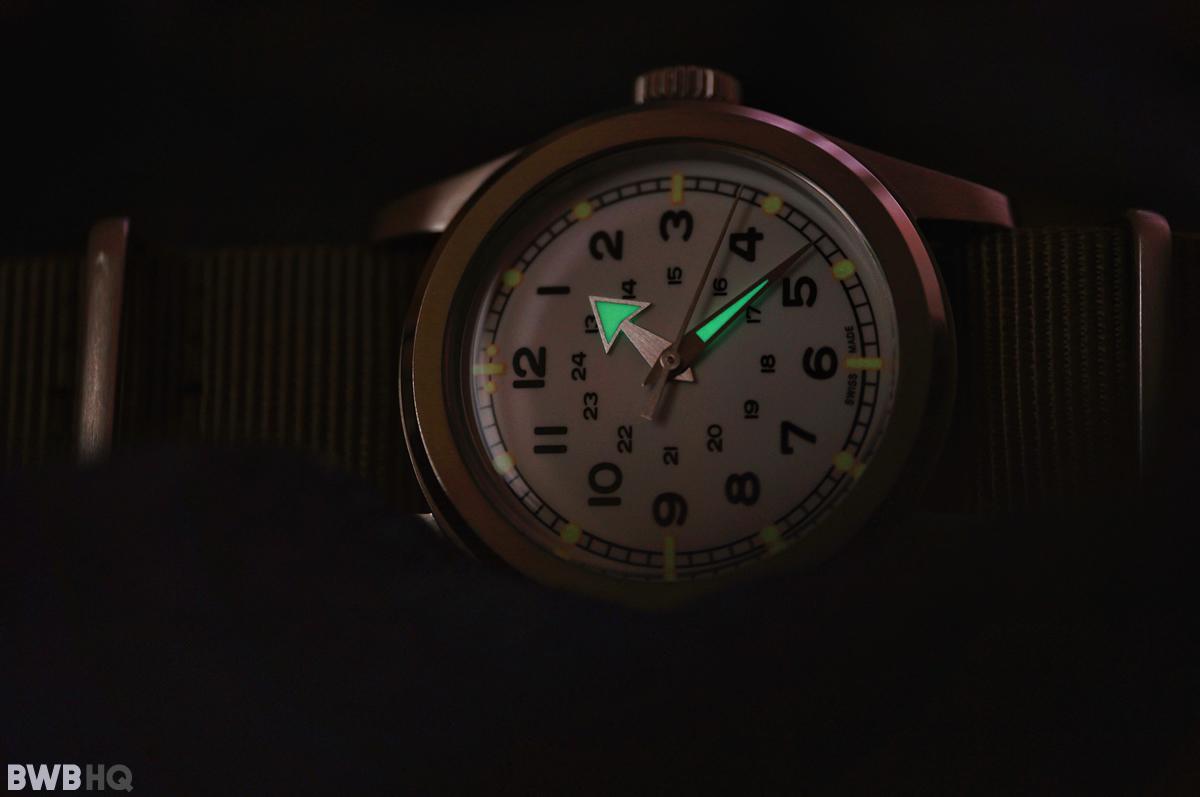 Serica Watch Vintage Lume