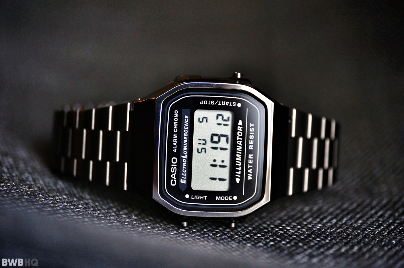 Casio A168WGG-1A Gunmetal Review