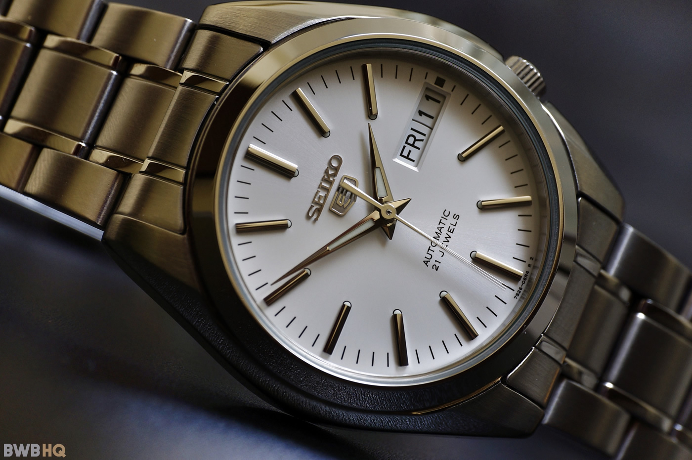Review Seiko SNKL41 Front
